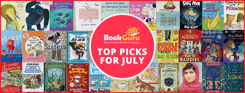 BookGuru's Top Picks For July
